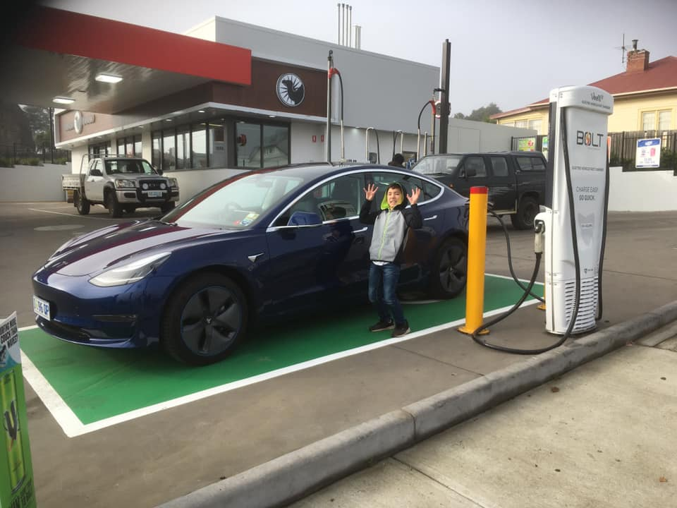 Tasmanian fast charging network rapidly expanding